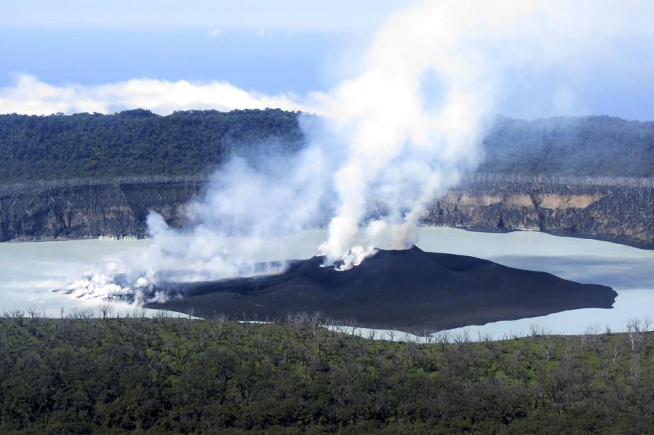L'Observatoire de prévention des risques géologiques du Vanuatu... (Photo archives, AP)