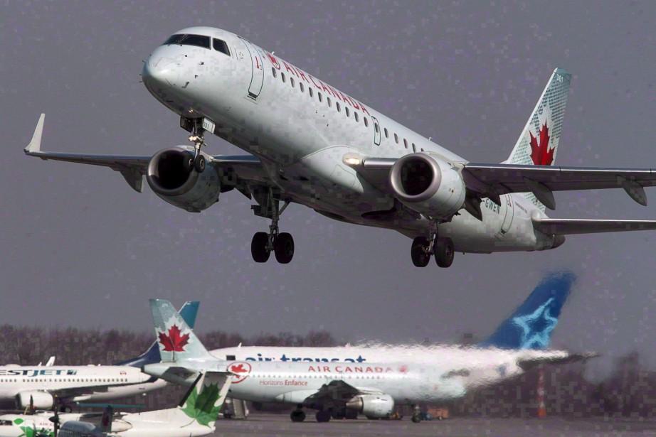 Air Canada a comptabilisé un bénéfice net ajusté... (Photo Andrew Vaughan, archives La Presse canadienne)