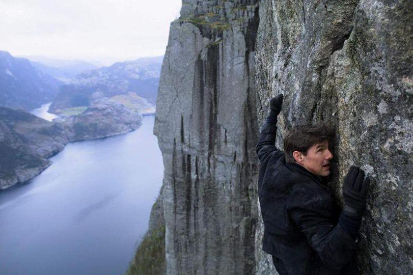 TomCruise incarne Ethan Hunt et se prête aux... (Photo fournie par Paramount Pictures)