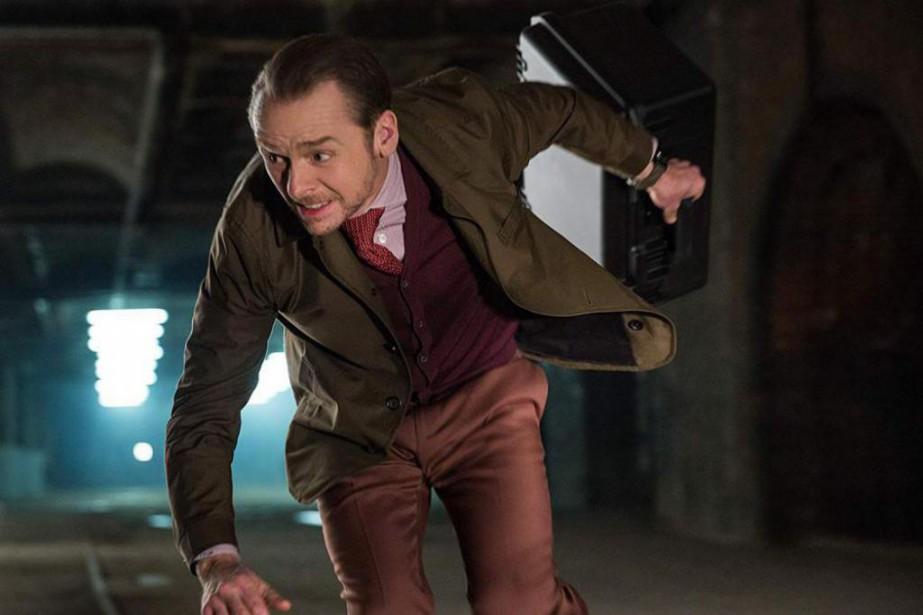 Simon Pegg incarne Benjamin «Benji» Dunn, un fidèle... (Photo fournie par Paramount Pictures)