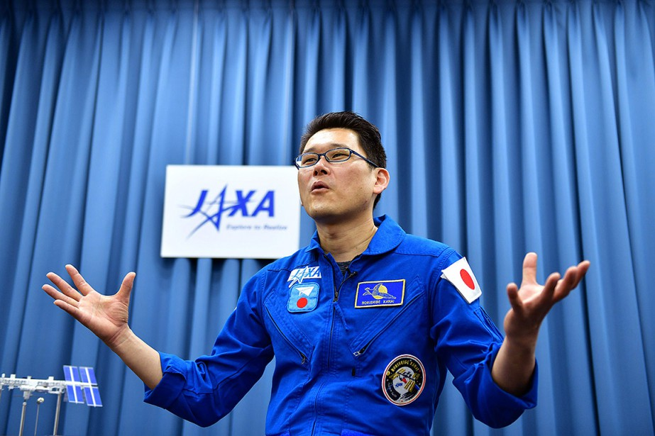 L'astronaute japonais Norishige Kanai.... (Kazuhiro NOGI, ARCHIVES AFP)