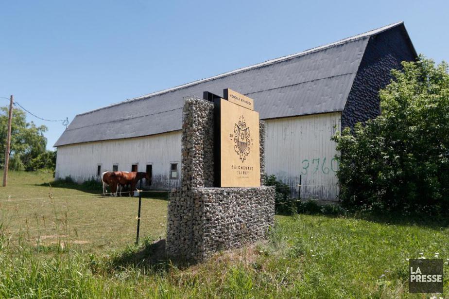 La Seigneurie de Liret à l'île d'Orléans... (Photo Martin Chamberland, La Presse)