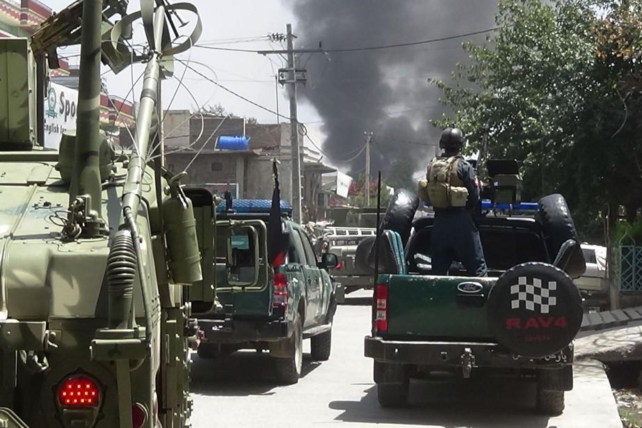 Jalalabad, capitale régionale de l'Est, et la province... (PHOTO STR, Agence france-presse)