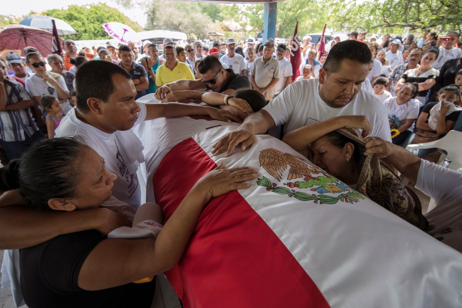 Andres Manuel Lopez Obrador entrera en fonction le... (Photo Alan Ortega, REUTERS)