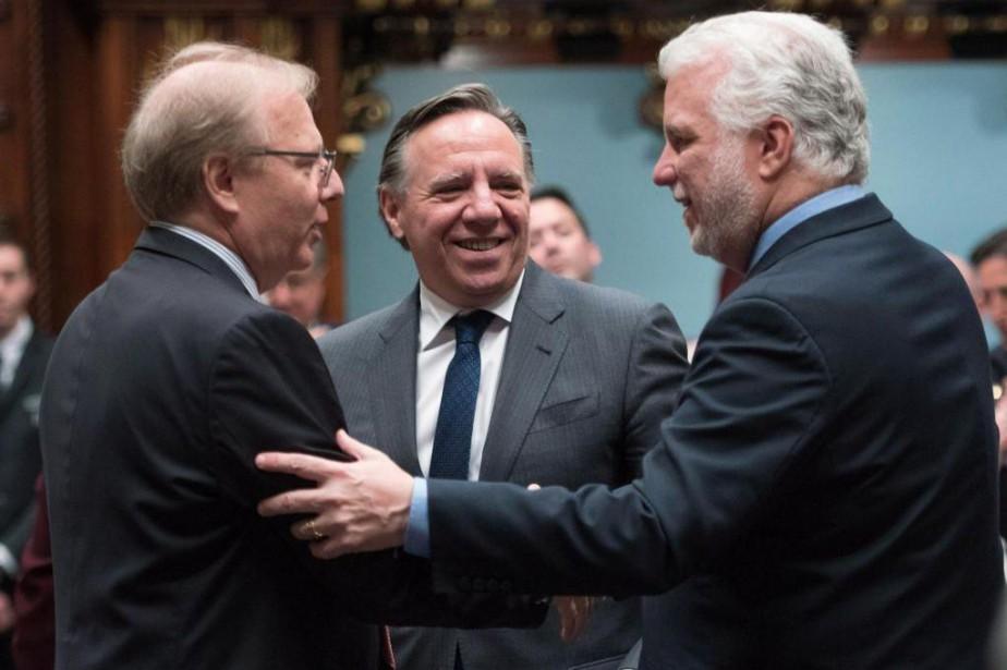 L'allocation aux partis est calculée proportionnellement au vote... (Photo archives La Presse canadienne)