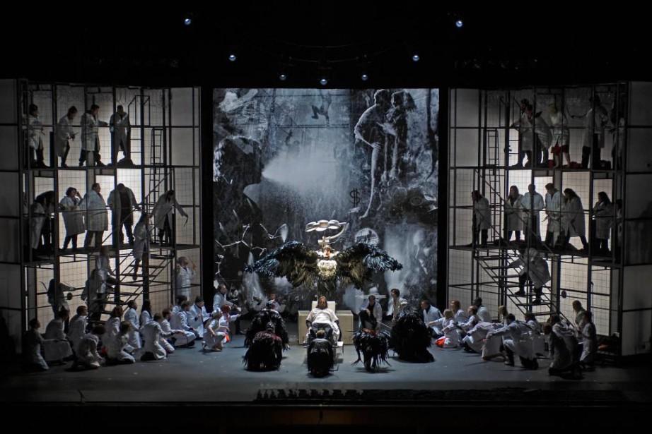 Des modifications quant à la structure de l'opéra... (PhotoPhilip Groshong, fournie par la production)