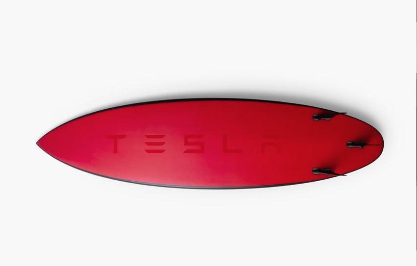 Planches de surf tesla for Application de construction de maison ipad