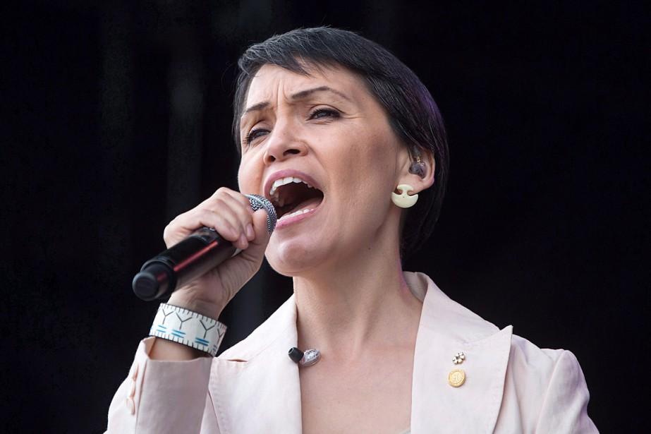 La chanteuse inuite Susan Aglukark... (PHOTO DARRYL DYCK, ARCHIVES LA PRESSE CANADIENNE)