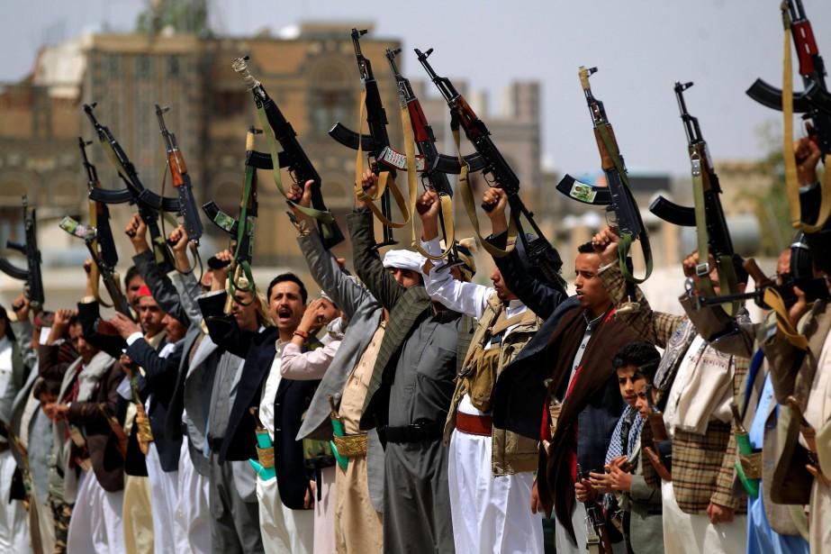 L'Iran dément catégoriquement armer les Houthis au Yémen.... (PHOTO AFP)