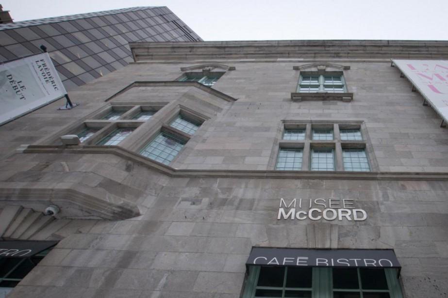 Le musée McCord est actuellement situé au690, rue... (Photo Ivanoh Demers, Archives La Presse)