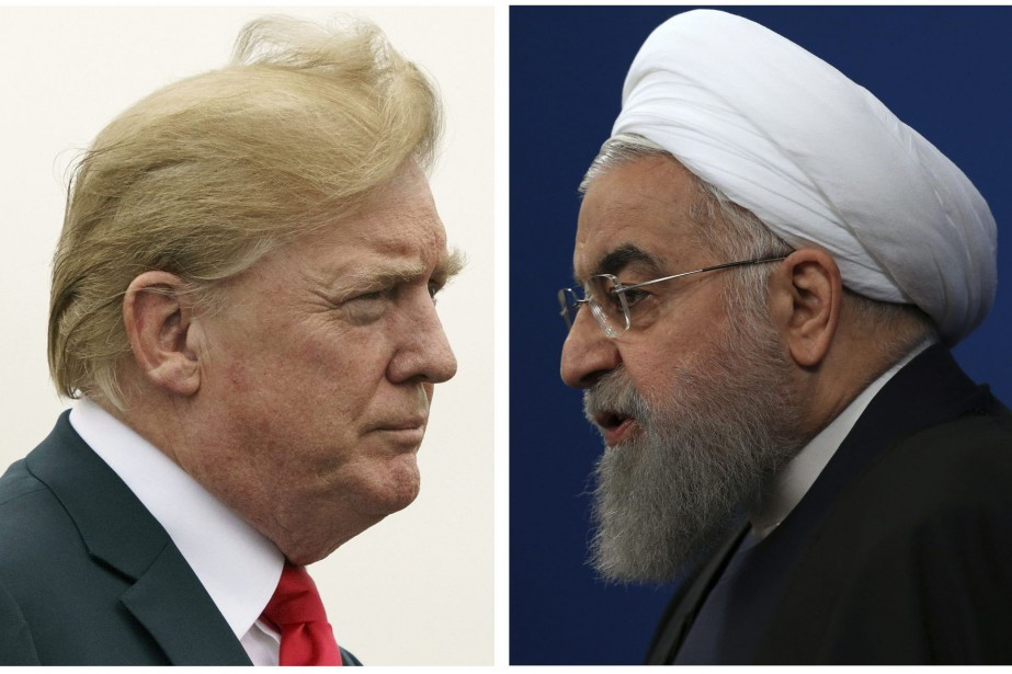 Donald Trump et Hassan Rohani... (Photo Associated Press)