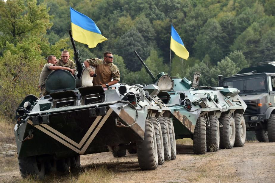 Le conflit entre séparatistes prorusses et armée ukrainienne... (PHOTO AFP)