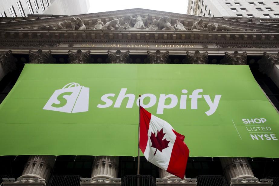 Shopify, une plateforme canadienne de... (Photo Lucas Jackson, Archives Reuters)