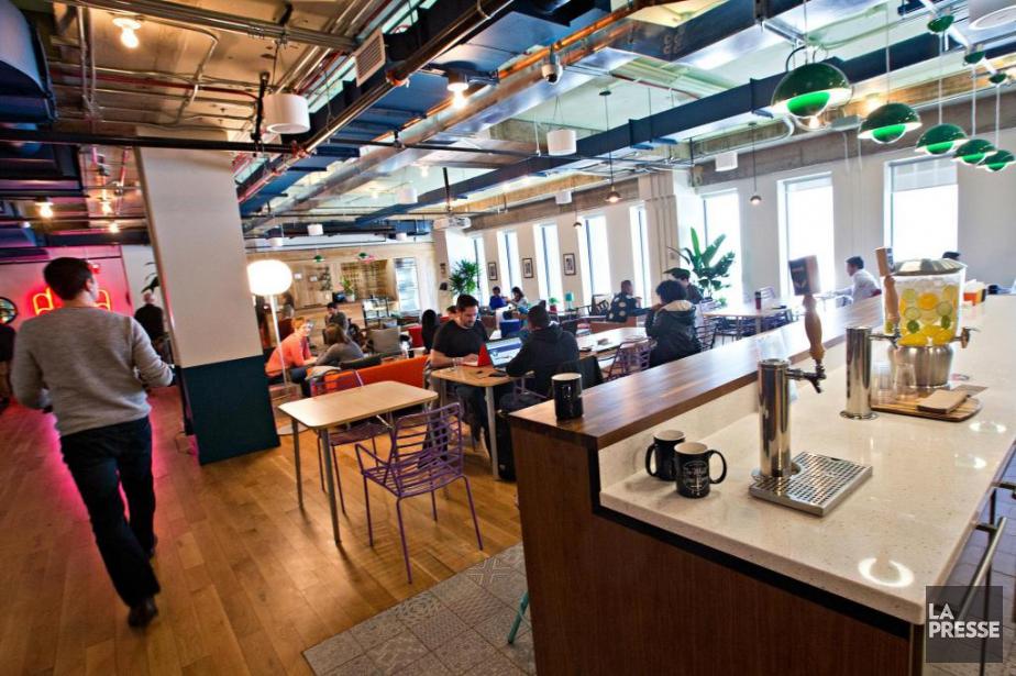 Numéro un de la location d'espaces de travail... (Photo Patrick Sanfaçon, Archives La Presse)