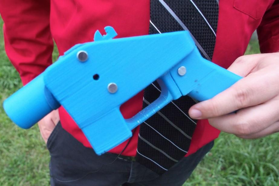 Cette nouvelle façon de fabriquer des armes chez... (Photo Robert MacPherson, archives Agence France-Presse)
