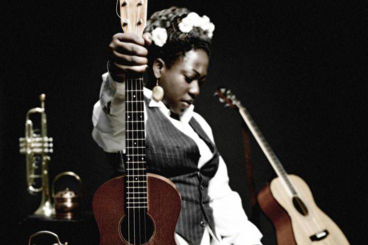 La chanteuse et compositrice montréalaise MélissaLaveaux... (PHOTOJEAN-MARCLubrano, Archives Festival international de jazz de Montréal)