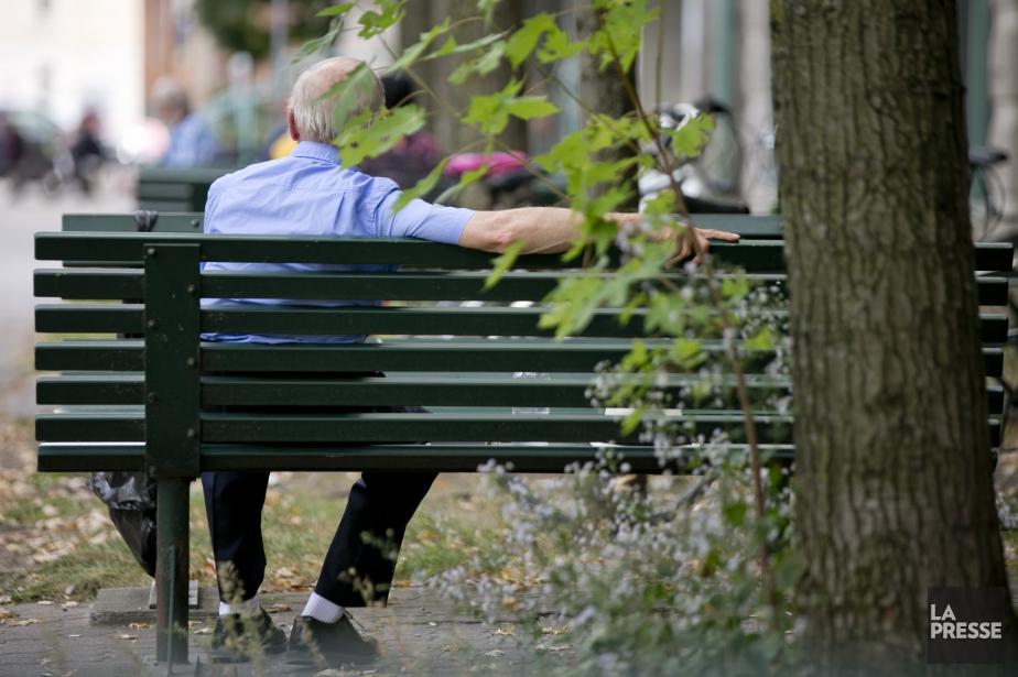 Généralement, les femmes âgées affichaient des niveaux de... (Photo David Boily, Archives La Presse)