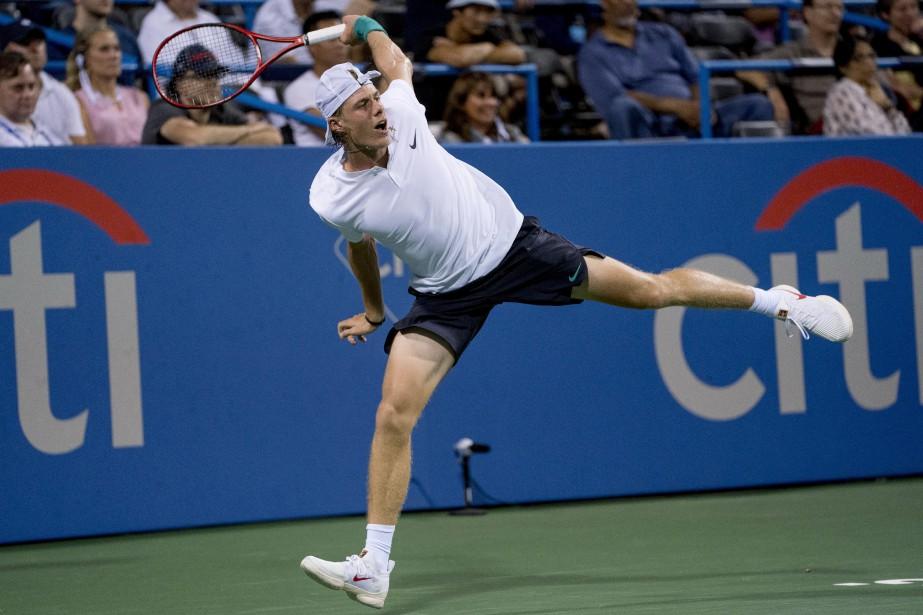 Denis Shapovalov... (Photo Andrew Harnik, Associated Press)