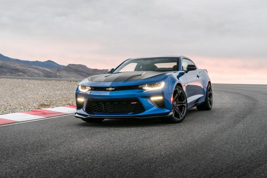 Chevrolet Camaro SS 1LE 2018. (Toutes les photos Chevrolet)