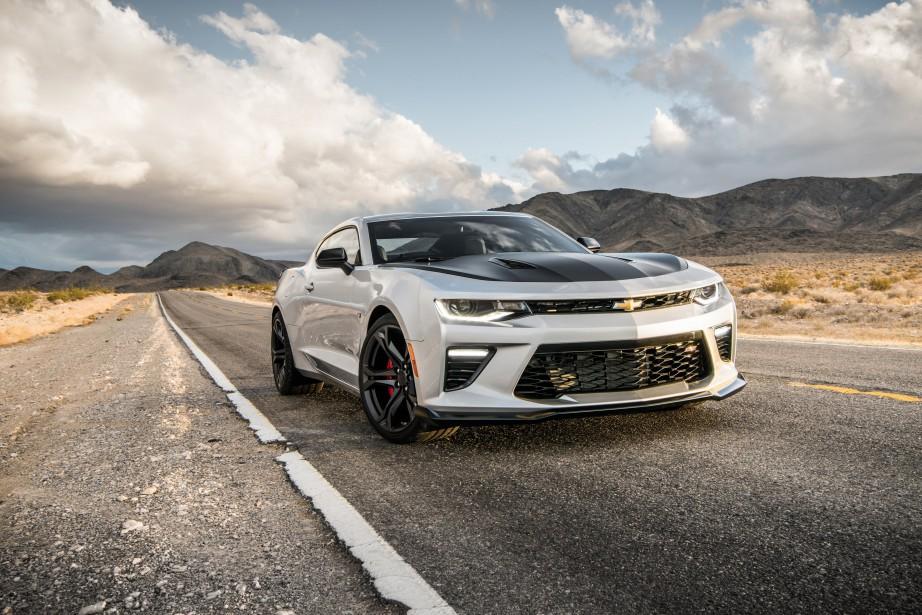 Chevrolet Camaro SS 1LE 2018. (.)