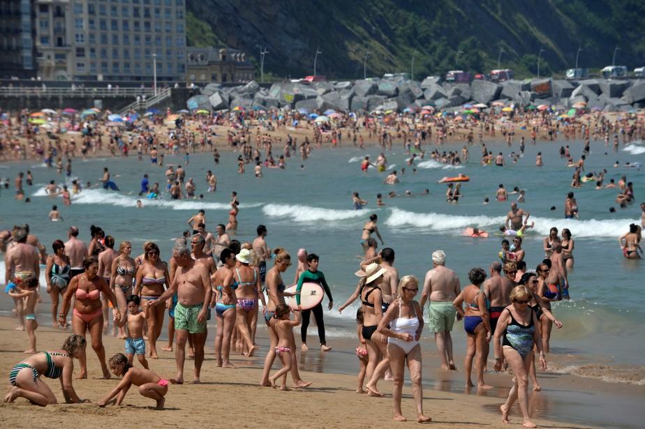 Une plage de San Sebastian, au nord de... (Photo Vincent West, Reuters)