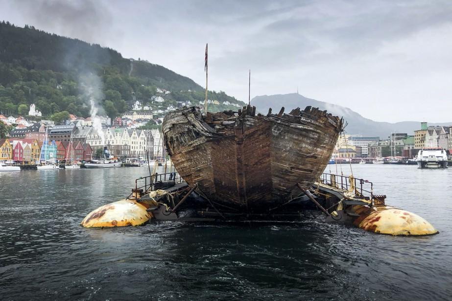 L'expédition lancée en 1918 avait notamment permis d'explorer... (Photo Jan Wanggard, AFP)