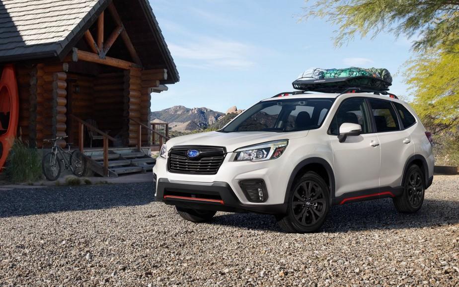 Subaru Forester 2019. | 6 août 2018