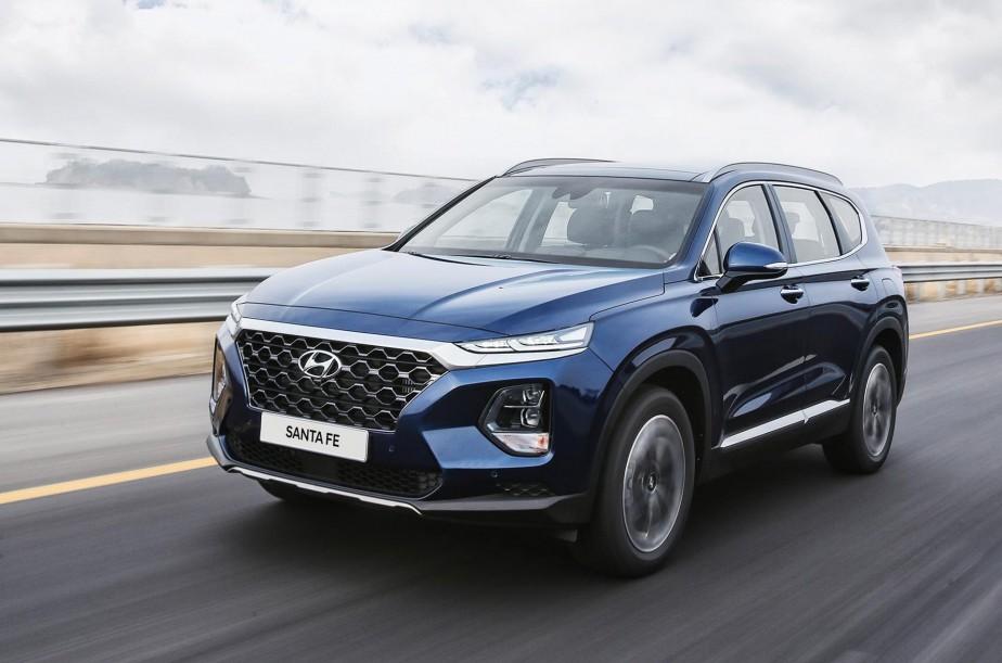 Hyundai Santa Fe 2019. | 6 août 2018