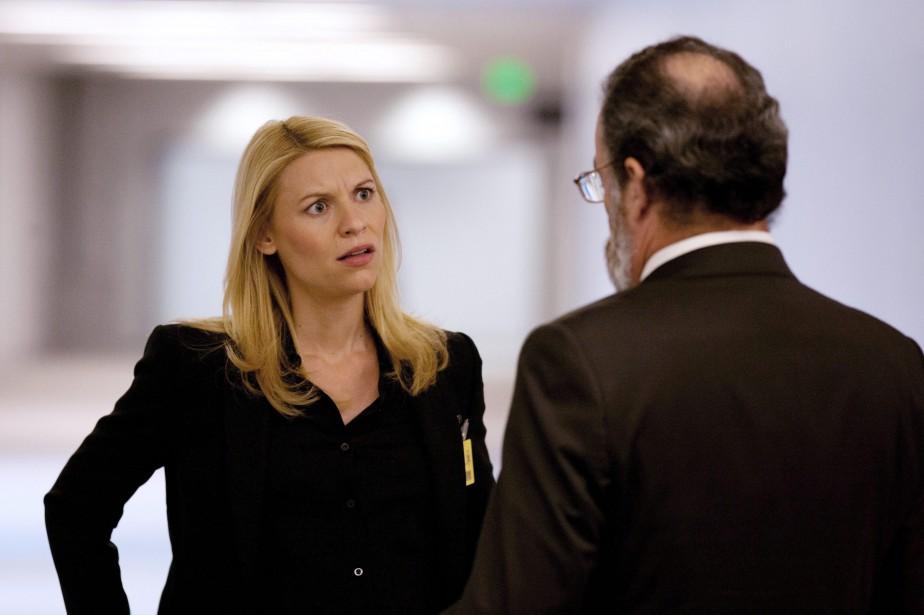 Claire Danes etMandy Patinkin dans une scène de... (ARCHIVES AP)