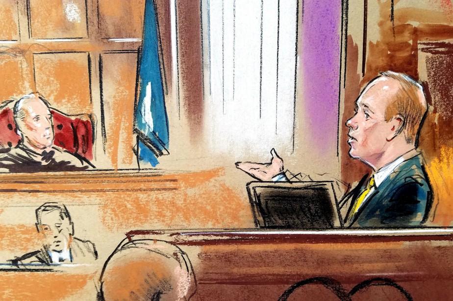Rick Gates a pris la parole au cinquième... (PHOTO REUTERS)