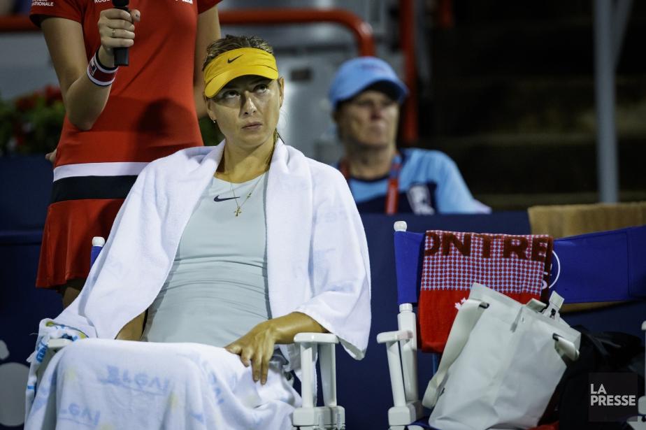 Maria Sharapova avait pris les devants 4-1 lorsque... (PHOTO OLIVIER JEAN, LA PRESSE)