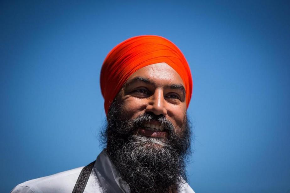 JagmeetSingh, chefdu Nouveau Parti démocratique.... (Photo archives La Presse canadienne)