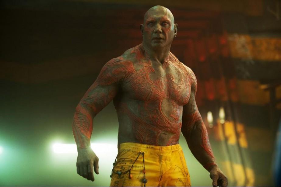 Dave Bautista dans Guardians of the Galaxy, un... (Photo fournie par Marvel Studios/Disney Pictures)