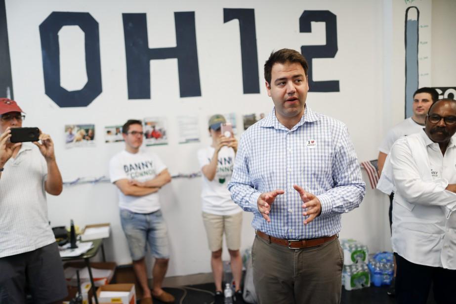 Le candidat démocrate pour le 12e disctict de... (Photo John Minchillo, Associated Press)