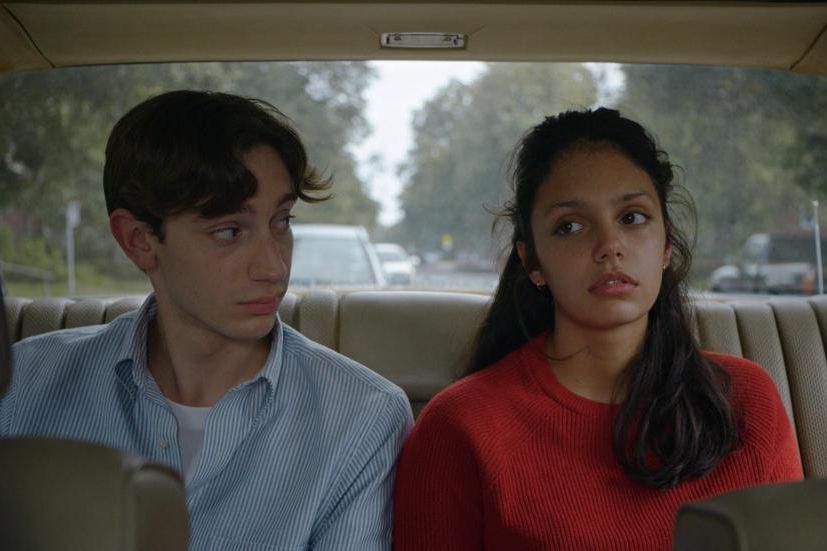 Théodore Pellerin et Noée Abita dansGenèse, un film... (Photo fournie par Fun Film Distribution)