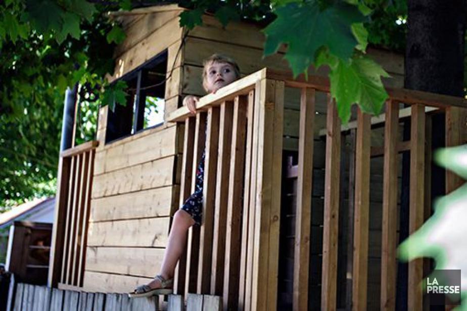 Maxime a la chance d'avoir sa propre maison... (PHOTO OLIVIER JEAN, LA PRESSE)