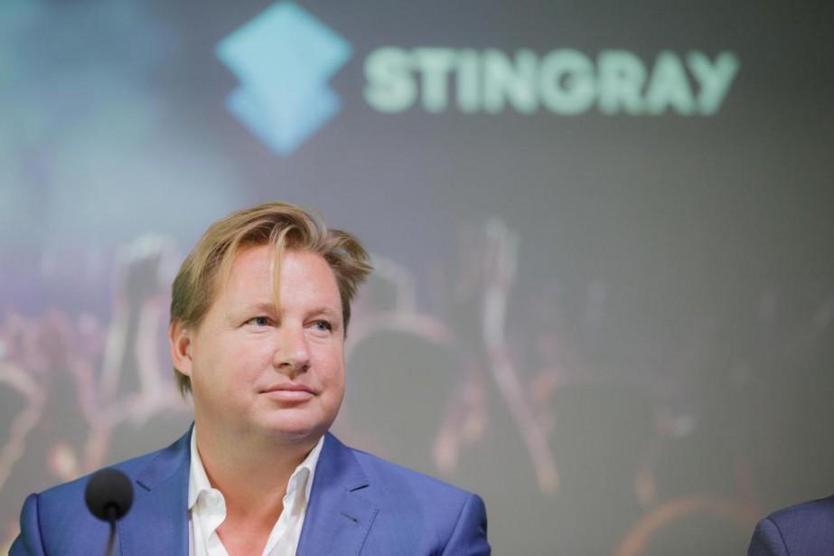 Eric Boyko,PDG de Stingray... (Photo Edouard Plante-Fréchette, La Presse)