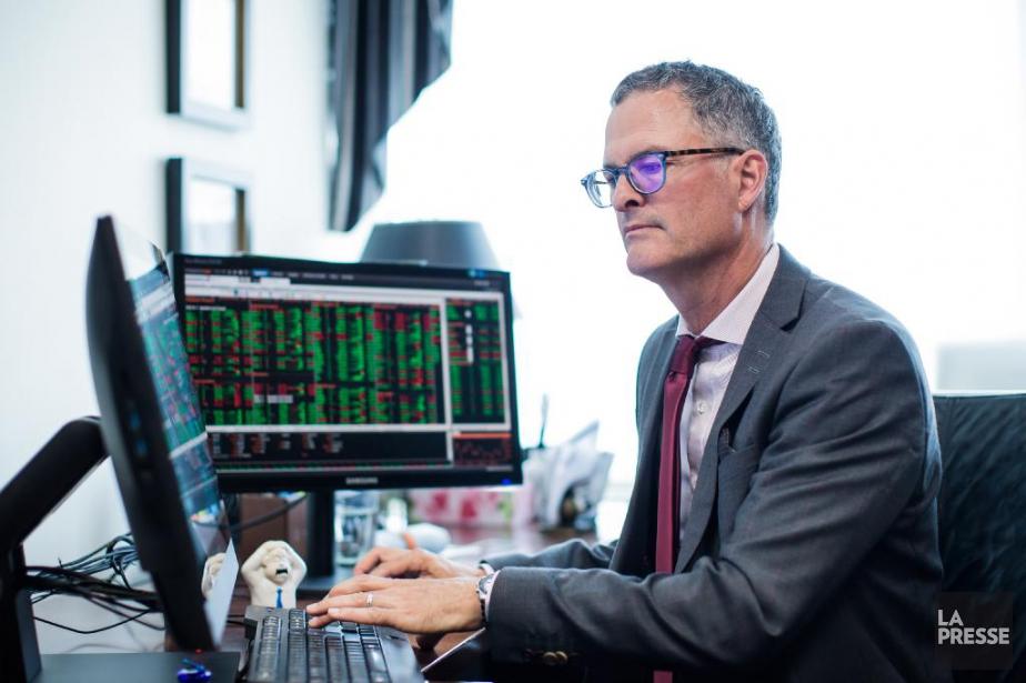 Denis Gamache, gestionnaire de portefeuille.... (Photo Edouard Plante-Fréchette, La Presse)