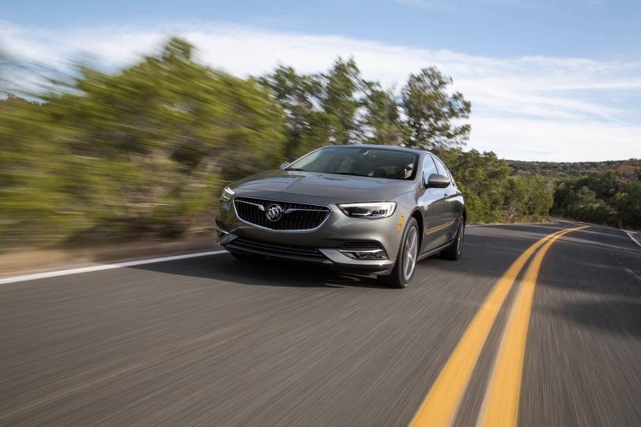 2018 Buick Regal Sportback. Photo fournie par Buick (La Presse)