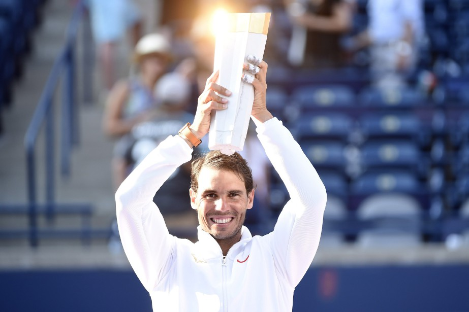 Rafael Nadalavait également décroché le titre à Toronto... (PHOTO PC)