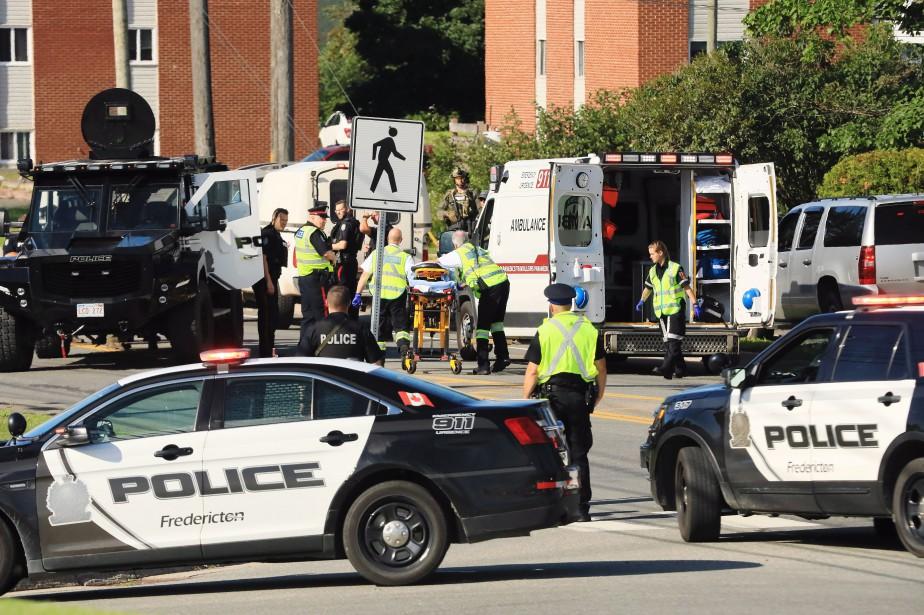 L`homme accusé d`avoir tué quatre personnes à Fredericton, vendredi, possédait