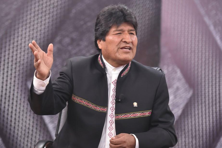 Au pouvoir depuis 12 ans, 6 mois et... (PHOTO REUTERS/GOUVERNEMENT BOLIVIEN)