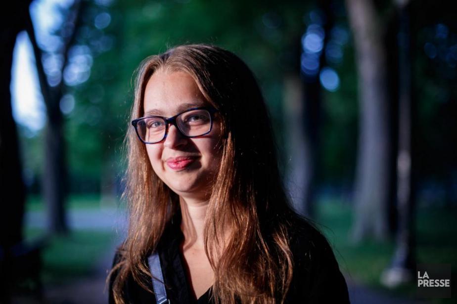 Dans quelques jours, Andréanne Gourd, 19ans, entre à... (Photo Olivier Jean, La Presse)