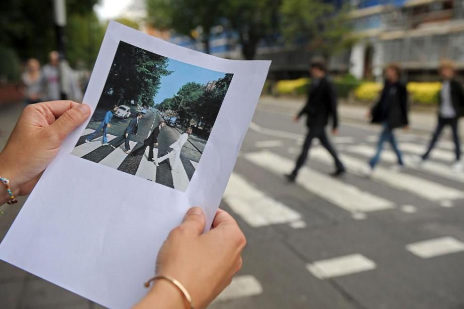 Le passage pour piétons qui apparaît sur la... (PhotoCarl de Souza, archives Agence France-Presse)