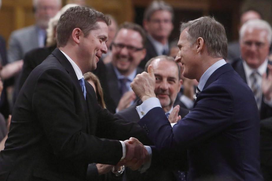 Le chef conservateur Andrew Scheer a évité de se prononcer