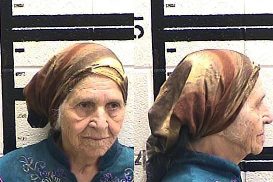 Martha Al-Bishara, octogénaire ne parlant pas anglais, a... (photo Murray County Jail, via AP)