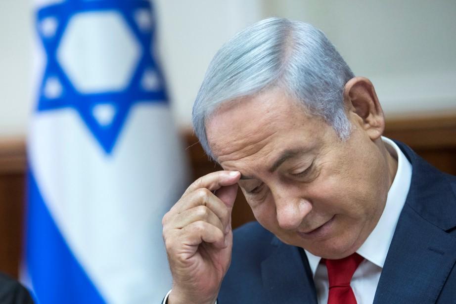 Benyamin Nétanyahou a été interrogé une douzaine de... (Photo Jim Hollander, Reuters)