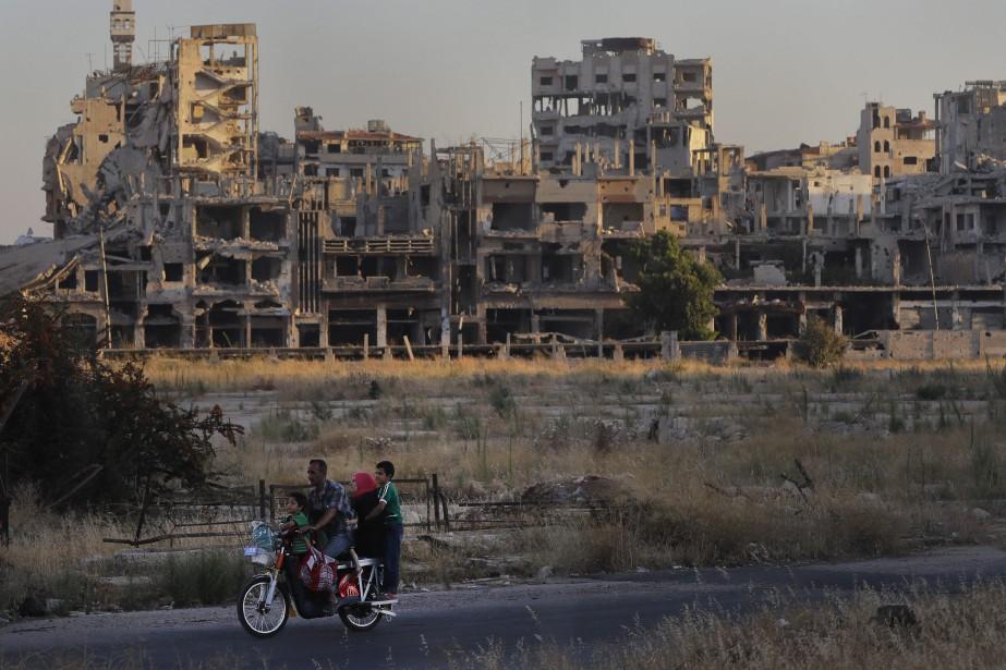 La suspension de ces fonds n'affecte pas l'aide... (Photo Sergei Grits, Associated Press)