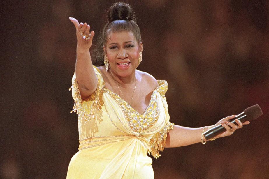 Les funérailles de la «Reine de la Soul» Aretha Franklin... (Photo archives AP)
