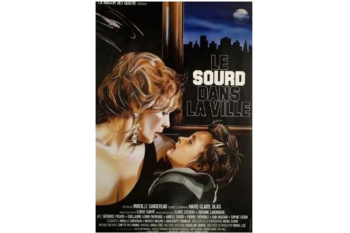 Affiche du film Le sourd dans la ville... (IMAGE FOURNIE PAR LES ARCHIVES DE LA CINÉMATHÈQUE QUÉBÉCOISE)